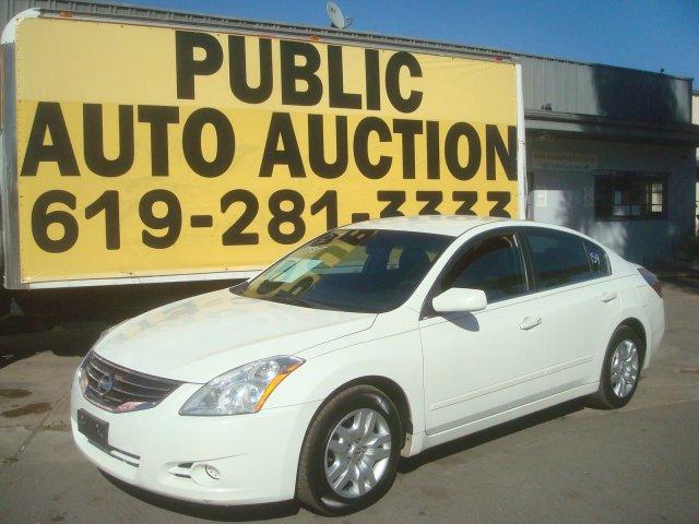 2012 Nissan Altima 25 S Auto Auction Of San Diego