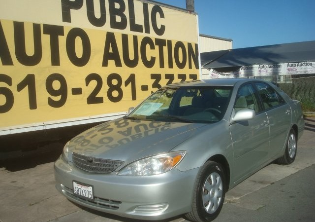 2003 toyota camry le auto auction of san diego. Black Bedroom Furniture Sets. Home Design Ideas